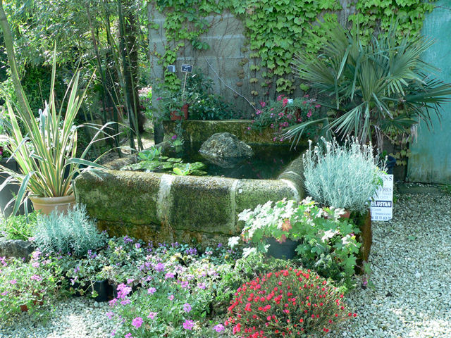 St phane guillot p pini res cr ation de jardins for Amenagement jardin fontaine